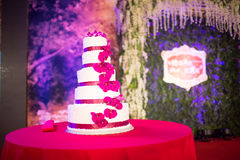 8 ciast ślub Fotografia Royalty Free