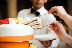 8 ciast ślub Zdjęcie Stock