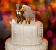 8 ciast ślub Obrazy Royalty Free