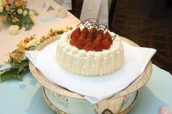 8 ciast ślub Zdjęcia Stock