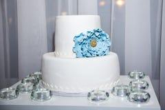 8 ciast ślub Zdjęcie Royalty Free