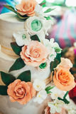 8 ciast ślub Zdjęcia Royalty Free