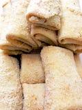 ciast naleśnikowych croquettes Fotografia Stock
