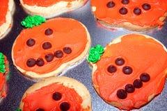 ciasteczka 2 dyniowego Zdjęcie Royalty Free