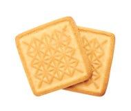 ciasteczka białe tło Obraz Stock