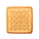 ciasteczka białe tło Zdjęcie Stock