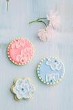 ciasteczka cukrowe Fotografia Royalty Free