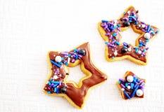 ciasteczka cukrowe obrazy stock