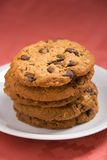 ciasteczka czekoladowe orzecha laskowego Fotografia Stock