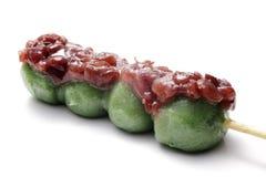 ciasteczka dango japończyka kusa Zdjęcia Royalty Free