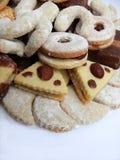 ciasteczka domów Obrazy Royalty Free