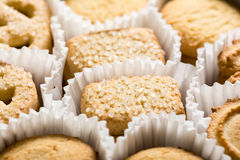 ciasteczka duńskie masła kakaowego obraz royalty free
