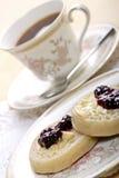 ciasteczka herbaciani Zdjęcia Royalty Free
