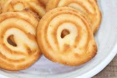 ciasteczka masła kakaowego Fotografia Stock