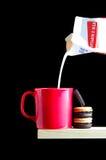 ciasteczka mleka Obraz Royalty Free