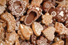 ciasteczka piernikowi Fotografia Stock