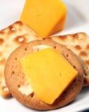 ciasteczka serowe Obrazy Royalty Free