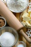 ciasteczka składników Zdjęcia Royalty Free