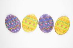 ciasteczka Wielkanoc jajka cukru Fotografia Royalty Free