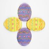 ciasteczka Wielkanoc jajka cukru Obraz Stock