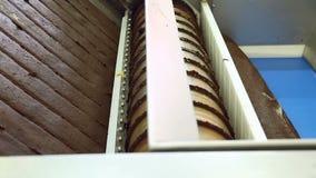 Ciasteczko fabryka produkuje oszklonych ciastka zbiory