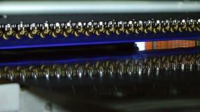 Ciasteczko fabryka produkuje oszklonych ciastka zdjęcie wideo