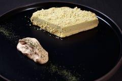 Ciasteczko, fachowy kulinarny, cheesecake fotografia royalty free