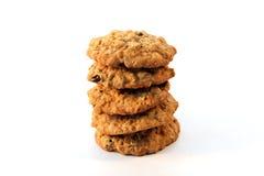 ciastek oatmeal rodzynka Zdjęcie Stock