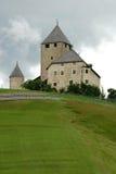 Ciastel de Tor, San Martino in Badia, Alta Badia Fotografia Stock Libera da Diritti