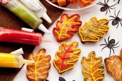 Ciastka dla Halloween zdjęcia stock