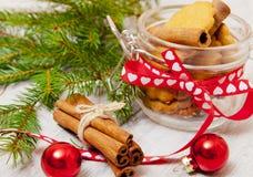 Ciastka dla nowego roku Obraz Royalty Free