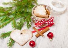 Ciastka dla nowego roku Zdjęcia Stock