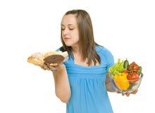 ciastka dziewczyny warzywa Obrazy Stock