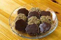 Ciastka i ciastka z czekoladą Zdjęcie Stock