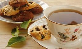 Ciastka i herbata Fotografia Stock