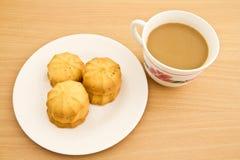 Ciastka i kawa Zdjęcia Stock