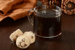 Ciastka i kawa Obraz Royalty Free