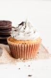Ciastka i Kremowe babeczki Obraz Stock