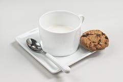 Ciastka i mleko Fotografia Stock