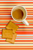 ciastka kawowi fotografia stock