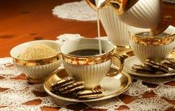 ciastka kawowi Obrazy Royalty Free