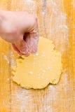 ciastka mąki ręki rozrzucanie fotografia royalty free