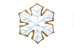 ciastka miodownika płatek śniegu Zdjęcie Stock