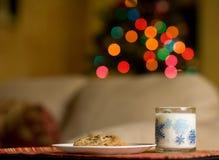 ciastka mleko Zdjęcie Stock