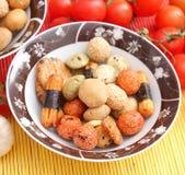 Ciastka ryż Fotografia Stock