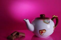 ciastka teapot Zdjęcia Stock