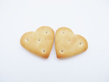 Ciastka w postaci serca Obraz Royalty Free