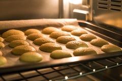 Ciastka w procesie zdjęcia stock