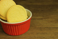 Ciastka w szczególe Obraz Stock