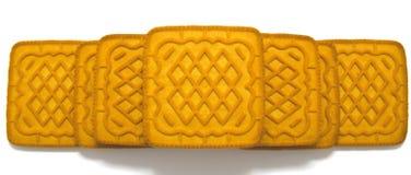 Ciastka wierza odizolowywający na bielu Fotografia Stock